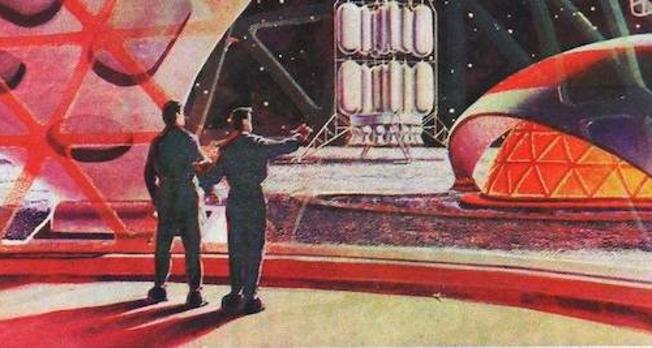 Création des effets magiques pour «D'autres Mondes» de Frédéric Sonntag.